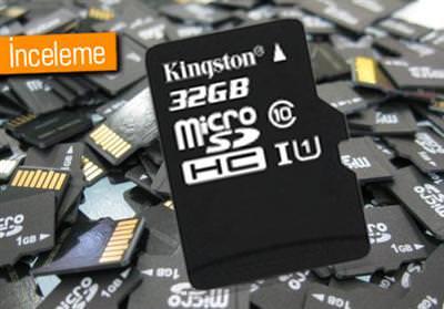 KİNGSTON CLASS 10 SDC10/32GB MİCROSD KART