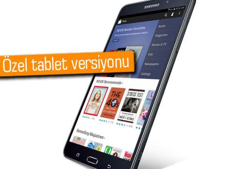 Samsung ve B&N, Galaxy Tab 4 Nook'u duyurdu