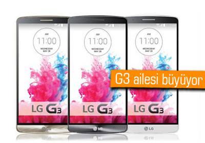 LG'DEN G3 LİTE, G3 VİGOR, G3 VİSTA VE G3 BEAT GELEBİLİR