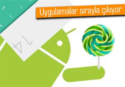ANDROİD L HESAP MAKİNESİ GOOGLE PLAY'DE