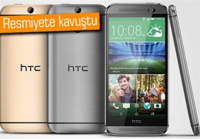 ÇİFT SİM DESTEKLİ HTC ONE M8 DUYURULDU