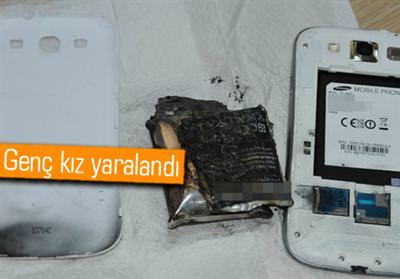 GALAXY S3 ELİNDE PATLADI, SAMSUNG'DAN ŞİKAYETÇİ OLDU