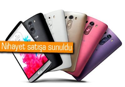LG G3 TÜRKİYE'DE SATIŞA ÇIKTI