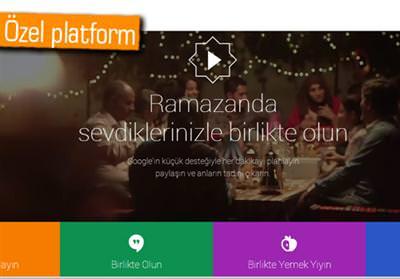 GOOGLE'IN RAMAZAN'A ÖZEL YENİ PLATFORMU