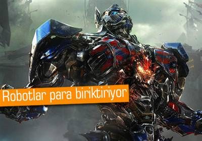 TRANSFORMERS: AGE OF EXTİNCTİON, HALA 1 NUMARADA