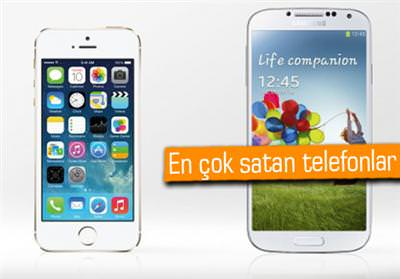 İPHONE 5S SATIŞLARI, GALAXY S4 VE GALAXY S3'Ü GERİDE BIRAKTI