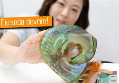 LG DİSPLAY, ESNEK VE SAYDAM EKRANLARINI TANITTI