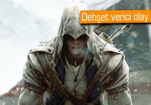 Assassin's Creed oynarken ağlayan kızını öldürdü!
