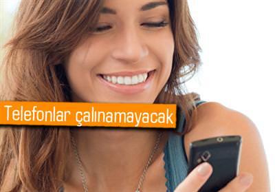 ÇALINAN TELEFONLAR ARTIK 24 SAAT İÇİNDE KAPANACAK!