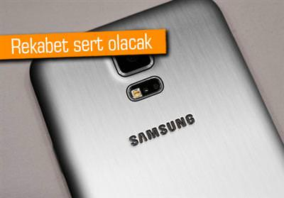 SAMSUNG METAL KASALI GALAXY ALPHA İLE İPHONE 6'YA SAVAŞ AÇACAK!