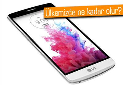 MİNİ MODEL, LG G3 S / BEAT'İN AVRUPA SATIŞ FİYATI