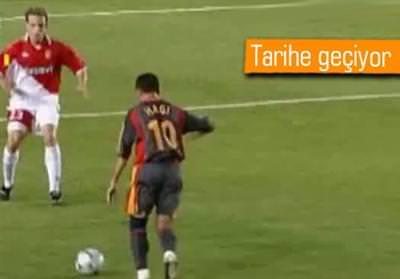 HAGİ'NİN MONACO FÜZESİ UEFA.COM'DA ZİRVEDE