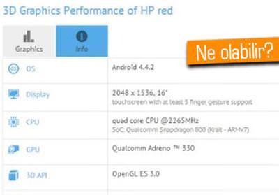 HP'NİN 16 İNÇLİK GİZEMLİ CİHAZI ORTAYA ÇIKTI