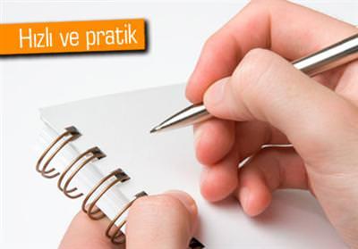 ANDROİD'TE HIZLICA NOT ALMANIN YOLU