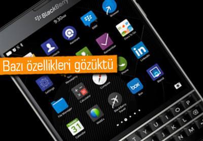 BLACKBERRY PASSPORT VE YETENEKLERİ VİDEODA GÖZÜKTÜ