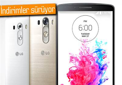 AMERİKA'DA LG G3'E BÜYÜK İNDİRİM