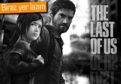 THE LAST OF US: REMASTERED'IN MİNİMUM DİSK İHTİYACI YÜKSEK