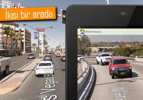 Google Maps ve Street View bir arada!