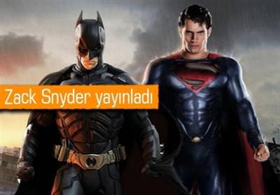 BATMAN VS. SUPERMAN FİLMİNDEN YENİ FOTOĞRAF