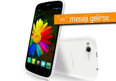 GENERAL MOBİLE DİSCOVERY'DE SMS AÇIĞI!