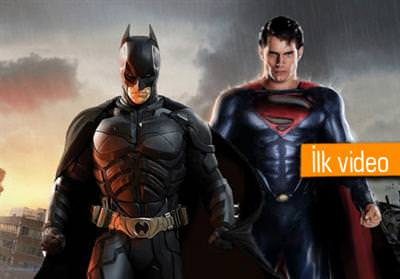 BATMAN VS. SUPERMAN FİLMİNİN VİDEOSU SIZDI!