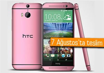 PEMBE HTC ONE M8 ÖN SİPARİŞTE