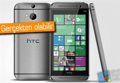 HTC ONE M8'İN WİNDOWS PHONE VERSİYONU MU GELİYOR?
