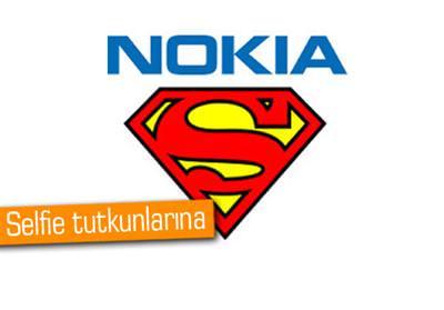 NOKİA'DAN SUPERMAN SELFİE TELEFON GELİYOR