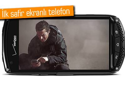 DÜNYANIN İLK SAFİR EKRANLI TELEFONUYLA TANIŞIN(HAYIR, İPHONE DEĞİL)