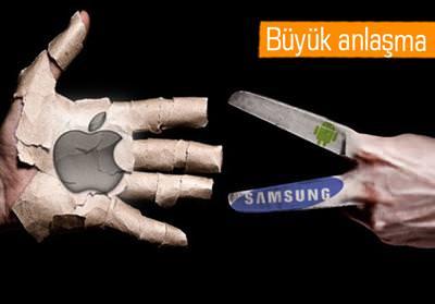 APPLE VE SAMSUNG'DAN TARİHİ BARIŞ ANLAŞMASI