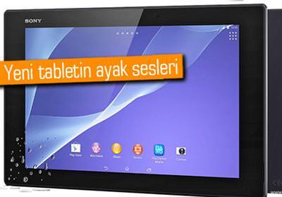 SONY XPERİA TABLET Z3, IFA 2014'TE TANITILABİLİR