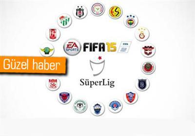 SPOR TOTO SÜPER LİG DE FIFA 15'TE OLACAK