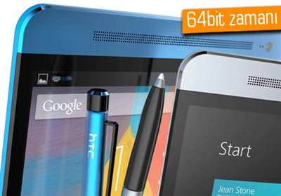 HTC'NİN 64BİT ANDROİD TELEFONU GÖRÜNDÜ