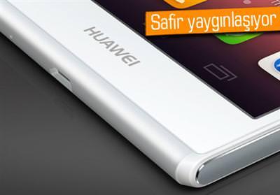 HUAWEİ'DEN SAFİR EKRANLI AKILLI TELEFON GELİYOR!