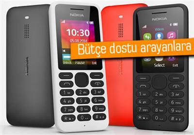 NOKİA'DAN 54TL'LİK TELEFON: NOKİA 130