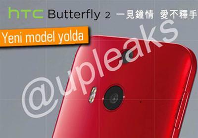 HTC BUTTERFLY 2 GELİYOR