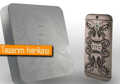 LÜKS HTC ONE M8 TANITILDI ANCAK SATIŞA ÇIKMAYACAK
