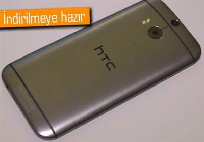 HTC ONE M8'İN YENİ GÜNCELLEMESİ ÜLKEMİZDE YAYINLANDI