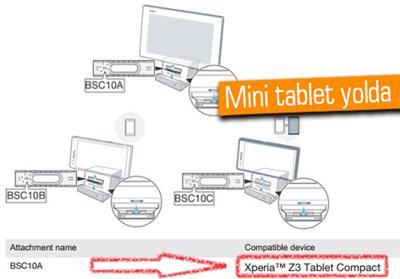 SONY XPERİA Z3 TABLET COMPACT MI?