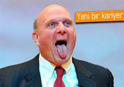 STEVE BALLMER, MİCROSOFT YÖNETİM KURULU'NDAN İSTİFA ETTİ