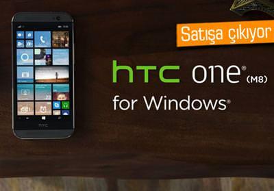 WİNDOWS PHONE PLATFORMUNUN EN GÜÇLÜ CİHAZI TANITILDI: HTC ONE (M8) FOR WİNDOWS