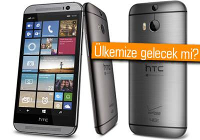 HTC ONE (M8) FOR WİNDOWS'UN FİYATI VE ÇIKIŞ TARİHİ