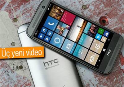 HTC ONE M8 FOR WİNDOWS PHONE İÇİN YAYINLANAN VİDEOLAR