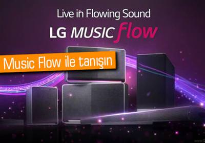 LG'DEN KABLOSUZ SES SİSTEMİ: MUSİC FLOW