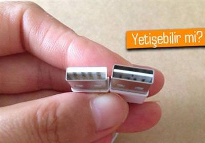 ÇİFT YÖNLÜ USB KABLOSU İPHONE 6 İLE GELMEYEBİLİR