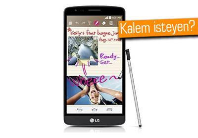 LG'DEN UYGUN FİYATLI VE KALEMLİ TELEFON: LG G3 STYLUS