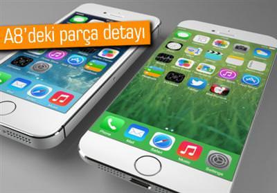 İPHONE 6'NIN A8 YONGASINA GÖRE 1 GB RAM VAR GÖRÜNÜYOR