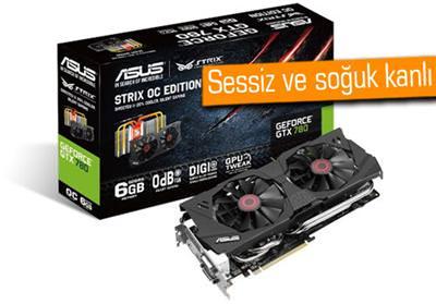 NVİDİA GEFORCE GTX 780 - ASUS STRİX OC EDİTİON - 6GB