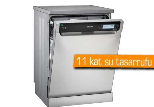 Vestel'den dünya rekortmeni bulaşık makinesi