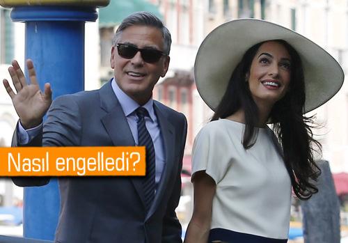 George Clooney'in düğününde siber önlemler de alındı
